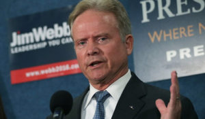 Jimm Webb được cân nhắc làm bộ trưởng quốc phòng Mỹ