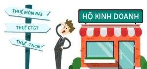 Cách tính thuế hộ kinh doanh cá thể, cá nhân kinh doanh