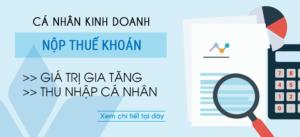 cách tính và kê khai thuế khoán cho cá nhân kinh doanh