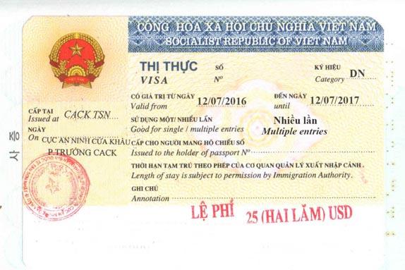 Phân biệt visa du lịch và visa doanh nghiệp