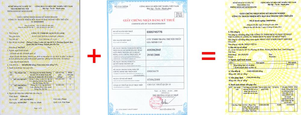 Chuyển đổi giấy chứng nhận đầu tư sang giấy chứng nhận ĐKDN