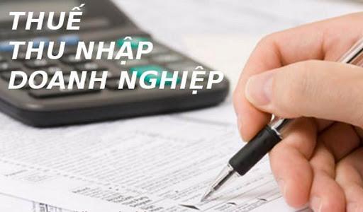Thuế thu nhập doanh nghiệp theo quy định pháp luật hiện hành
