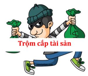Tội trộm cắp tài sản theo quy định của Bộ luật Hình sự